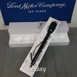 1928 1948 Ford 32 Black Tilt Steering Column No Key Floor Shift auto trans