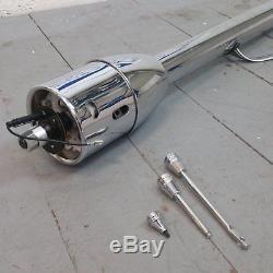 1928 1948 Ford 32 Chrome Tilt Steering Column No Key Floor Shift auto trans