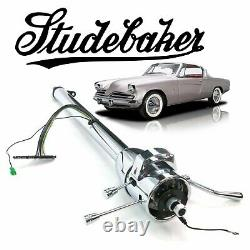 1932-1964 Studebaker 33 Chrome GM TILT STEERING COLUMN SHIFT v8 289 skybolt 304