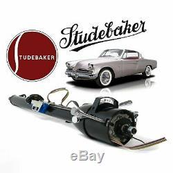 1932-64 Studebaker 33 Black GM TILT STEERING COLUMN SHIFT KEYed r-4 r-1 lark V8