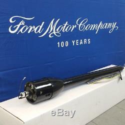 1948 1952 Ford F 150 Series Truck Black Tilt Steering Column No Key Shift
