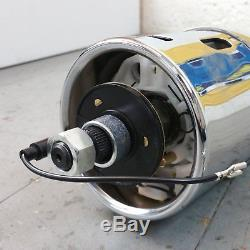 1955 1956 Chevrolet Passenger Car Chrome Tilt Steering Column No Key Shift gm