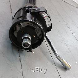 1955 1957 Chevrolet Bel Air Black Tilt Steering Column No Key Column Shift gm