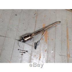 1955 1957 Chevrolet Bel Air Chrome Tilt Steering Column No Key Floor Shift