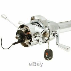 1955 1957 Chevrolet Belair 33 Chrome Tilt Steering Column KEYED COL Shift