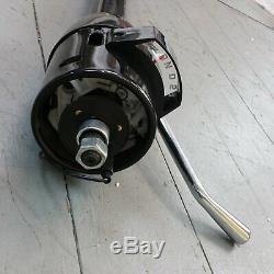 1955 1957 Chevy Bel Air 33 Black Tilt Steering Column No Key Column Shift gm
