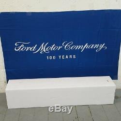 1955 1966 Ford Thunderbird 33â Chrome Tilt Steering Column KEYED Floor Shift