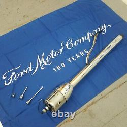 1955 1969 Ford fairlane 32 Chrome Tilt Steering Column No Key Floor Shift