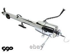 1957 57 Chevy Belair 150 210 Chrome Column Shift Tilt Steering Column