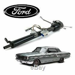 1957-70 Ford Fairlane Keyed Black Tilt Steering Column 33 500 332 352 bb fe v8