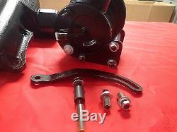 1957 Chevrolet power steering conversion with 4 position tilt steering column