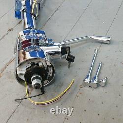 1958 1964 Impala 33 Chrome Tilt Steering Column KEYED COL Shift gm gmc