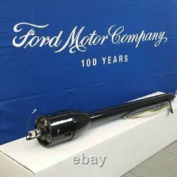 1958 1978 Ford 4 doors 32 Black Tilt Steering Column No Key Floor Shift auto