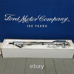 1958 1978 Ford 4 doors 33 Chrome Tilt Steering Column KEYED Floor Shift auto