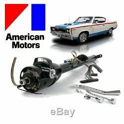 1958-87 AMC Keyed Tilt Steering Column Shift GM 33 Black v6 401 amx 390 327 352