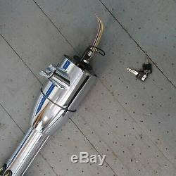 1960 1970 Ford Falcon 33 Chrome Tilt Steering Column KEYED Floor Shift auto