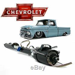 1960-66 Chevy Truck 33 GM STYLE TILT STEERING COLUMN SHIFT keyed apache k10 C10