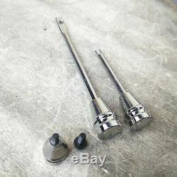 1960-66 Chevy Truck Chrome Tilt Steering Column Floor Shift Manual SWB C10 GMC