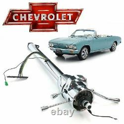 1960-69 Chevy Corvair 33 Chrome Tilt Steering Column Shift GM Powerglide Monza