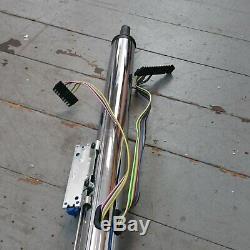 1961 1974 Ford Econoline Van Chrome Tilt Steering Column KEYED Floor Shift