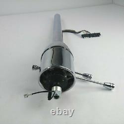 1961-76 GM B Body 32 Chrome Tilt Steering Column No Key Floor Shift Buick Olds