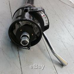 1962 1967 Chevy 33 Black Tilt Steering Column No Key Column Shift gmc gm