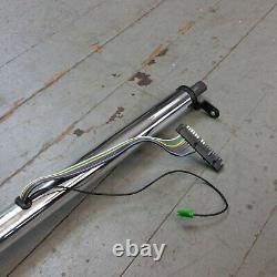 1962 1974 Mopar B & E Body 33 Chrome Tilt Steering Column No Key COL Shift