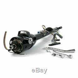 1962-74 Mopar B E Body Black Tilt Steering Column 33 Hemi 7.0L 440 426 Charger