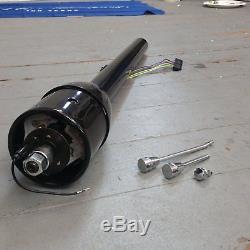 1963 1964 Ford Galaxie 32 Black Tilt Steering Column No Key Floor Shift trans