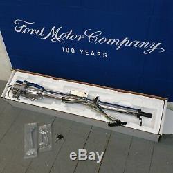 1963 1964 Ford Galaxie 33 Chrome Tilt Steering Column KEYED Col Shift trans