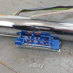 1963 1982 Chevrolet Corvette Chrome Tilt Steering Column KEYED Floor Shift gm