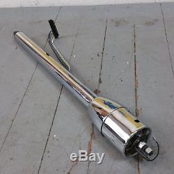 1963 1982 Chevrolet Corvette Chrome Tilt Steering Column No Key Floor Shift gm