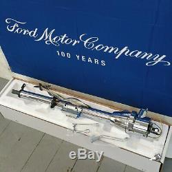 1964 1965 Ford Thunderbird 33 Chrome Tilt Steering Column KEYED Col Shift new