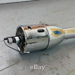 1964 1966 Chevelle 32â Chrome Tilt Steering Column No Key Floor Shift gmc gm