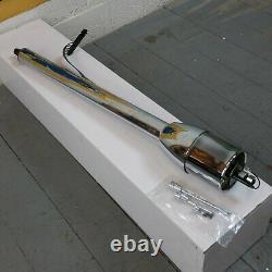 1964 1967 Chevelle 32 Chrome Tilt Steering Column No Key Floor Shift gm gmc