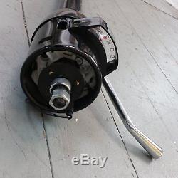 1964 1967 Chevelle 33 Black Tilt Steering Column No Key Column Shift gm gmc