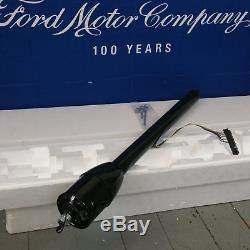 1964 1970 Ford Mustang 32 Black Tilt Steering Column No Key Floor Shift auto