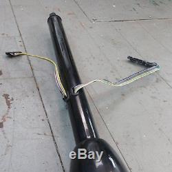 1964 1972 Chevelle 33 Black Tilt Steering Column KEYED Floor Shift gmc gm