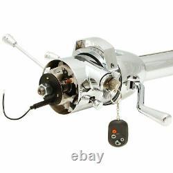 1964 1972 Chevrolet El Camino Chrome Tilt Steering Column KEYED COL Shift