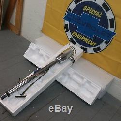1964 1974 GM A Body Chevelle Chrome Tilt Steering Column KEYED Floor Shift gm