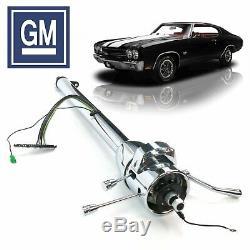 1964-1977 GM A-Body 33 Chrome Tilt Steering Column Shift 330 402 SS LSX Tempest