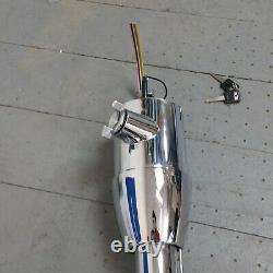 1964-73 Ford Mustang 33 Chrome Floor Shift Tilt Steering Column Keyed Ignition