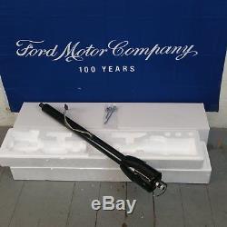 1965 1966 Ford Galaxie 32 Black Tilt Steering Column No Key Floor Shift auto