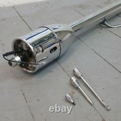 1965 1966 Ford Galaxie 32 Chrome Tilt Steering Column No Key Floor Shift auto