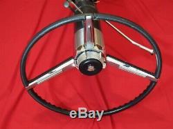 1965 CADILLAC TILT TELESCOPIC STEERING COLUMN & WHEEL Original GM