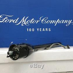 1966 1967 Ford Fairlane and Comet Black Tilt Steering Column No Key Shift