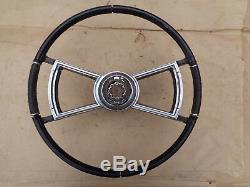1966 1967 Oldsmobile Toronado TILT STEERING WHEEL with HORN RING Original GM