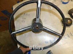 1966 Cadillac tilt-teloscopic steering column & steering wheel