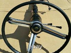 1967 1968 Camaro Chevrolet Tilt Steering Column Floor Shift OEM GM Black