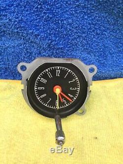1967-1968 Mustang In Dash Clock C7ZF-15000 Very Clean True OEM